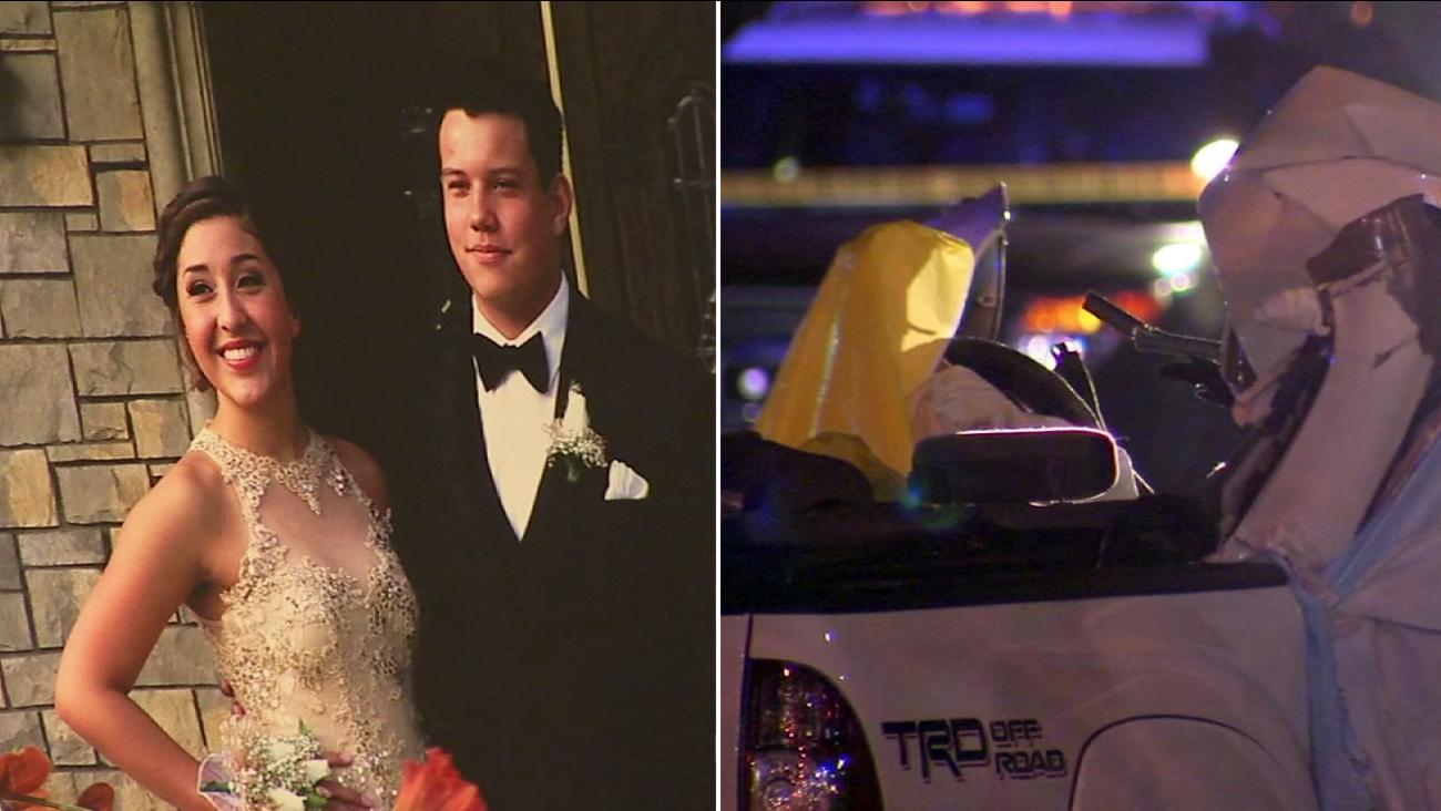George A. Steward and Sabrina D. Castillo, both 18, were killed in a car crash on Oct 18, 2015.
