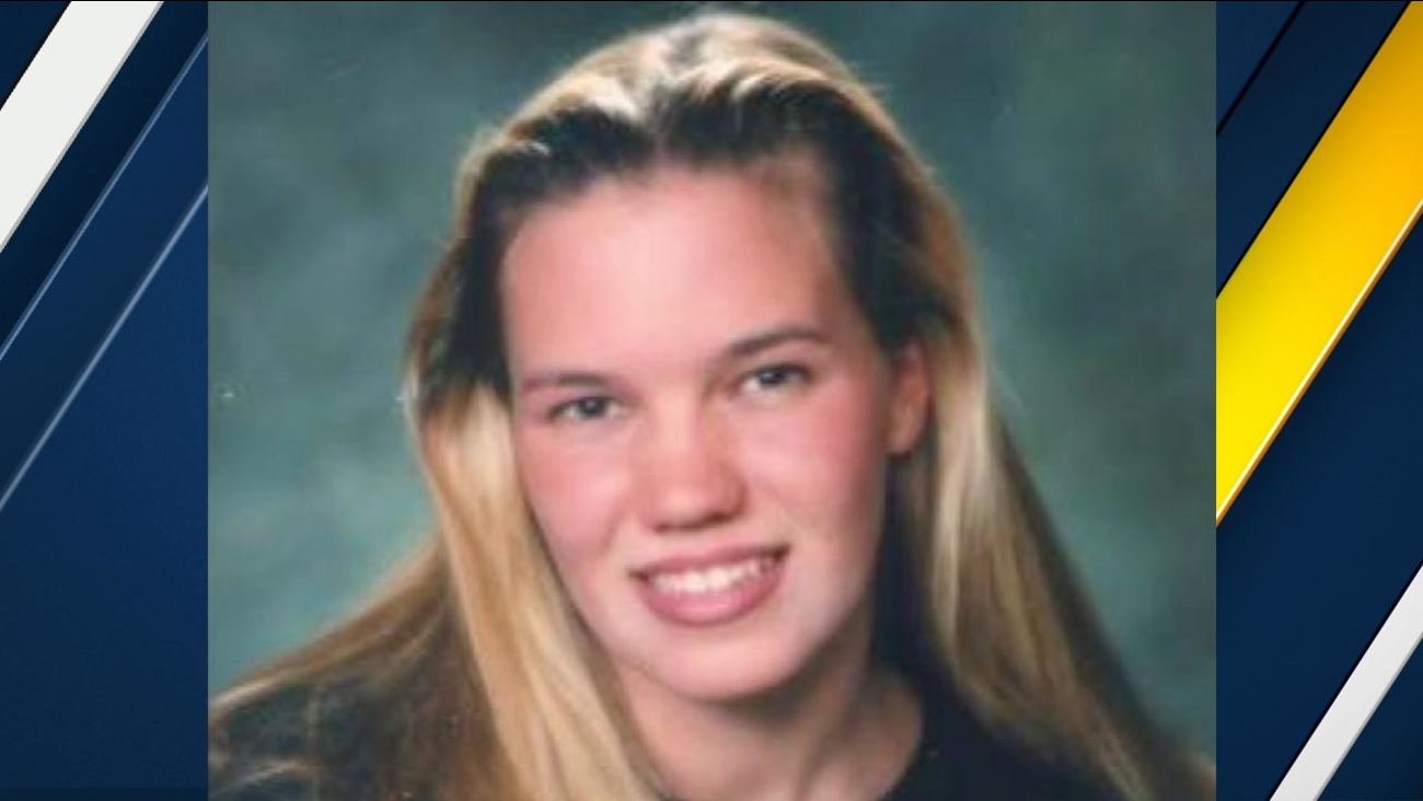 This undated image shows Kristin Smart, a Cal Poly student who went missing in San Luis Obispo, California in May 1996.