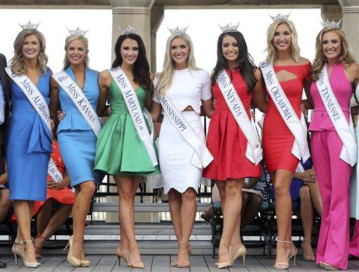 "<div class=""meta image-caption""><div class=""origin-logo origin-image none""><span>none</span></div><span class=""caption-text"">Miss America Pageant arrival ceremonies Tuesday, Aug. 30, 2016, in Atlantic City. (AP)</span></div>"