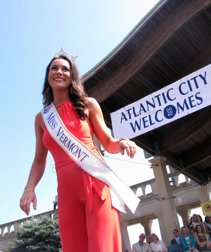 "<div class=""meta image-caption""><div class=""origin-logo origin-image none""><span>none</span></div><span class=""caption-text"">This Tuesday, Aug. 30, 2016 photo shows Miss Vermont Rylee Field at a welcoming ceremony for the Miss America contestants in Atlantic City. (AP)</span></div>"