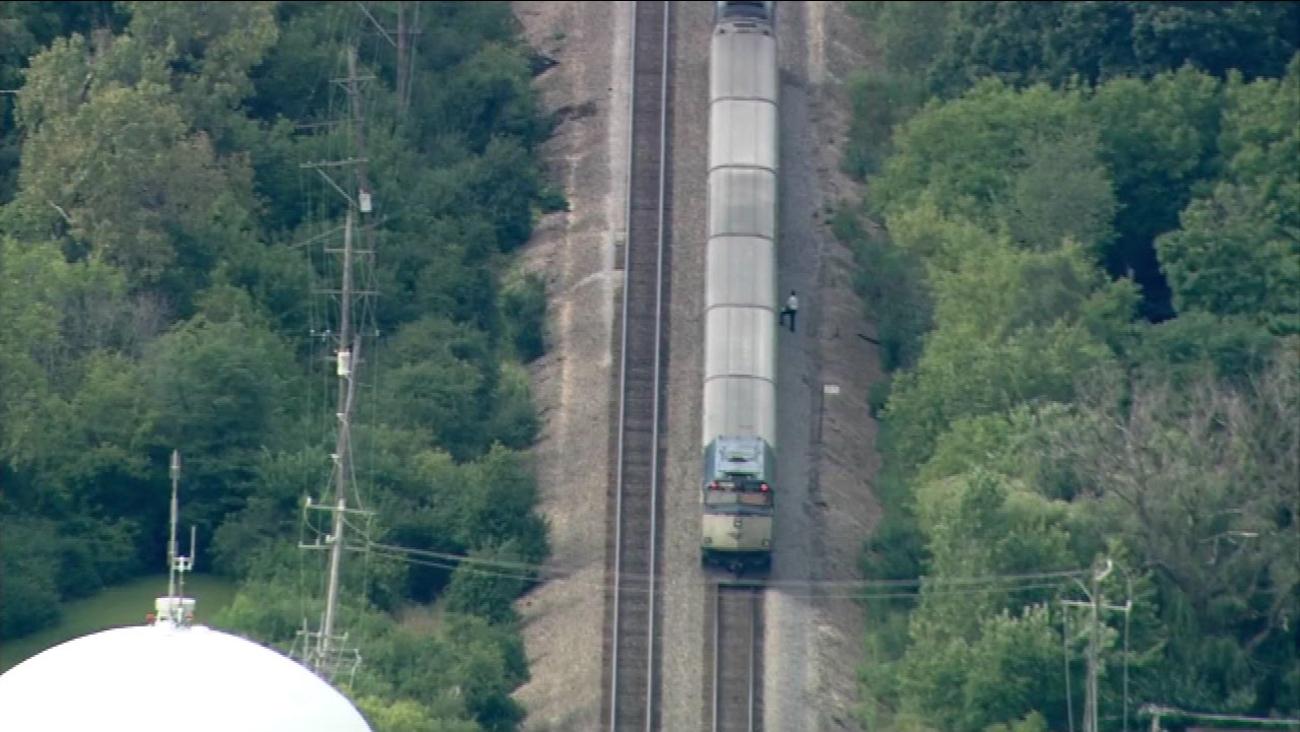 A pedestrian was fatally struck by an Amtrak train near Northbrook on September 8, 2016.