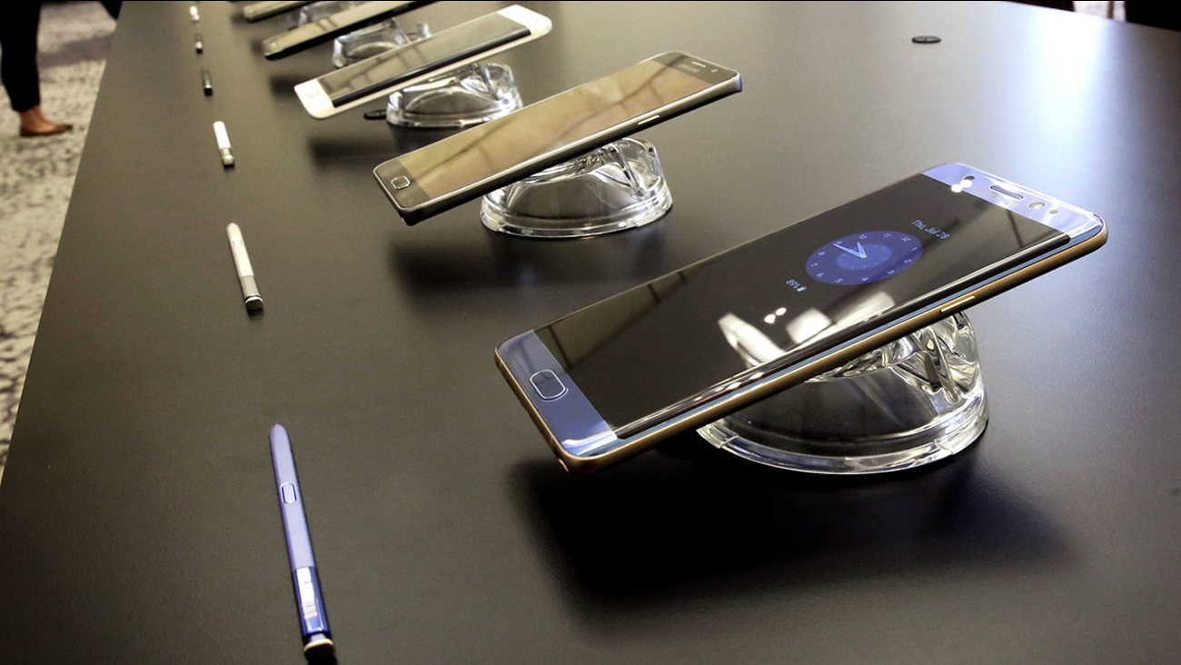 Samsung Galaxy Note 7s have been recalled by the Korean electronics giant.