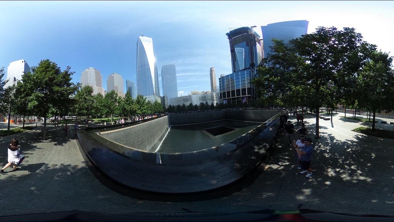 september 11 memorial 360 video