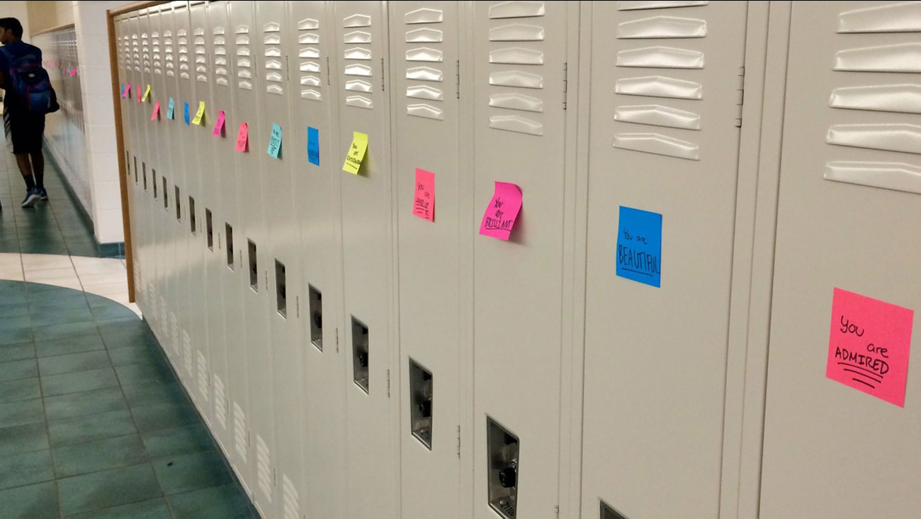After student's suicide, classmates flood lockers with encouraging ...