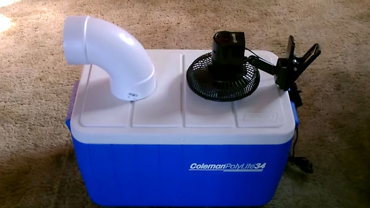 homemade air-conditioner