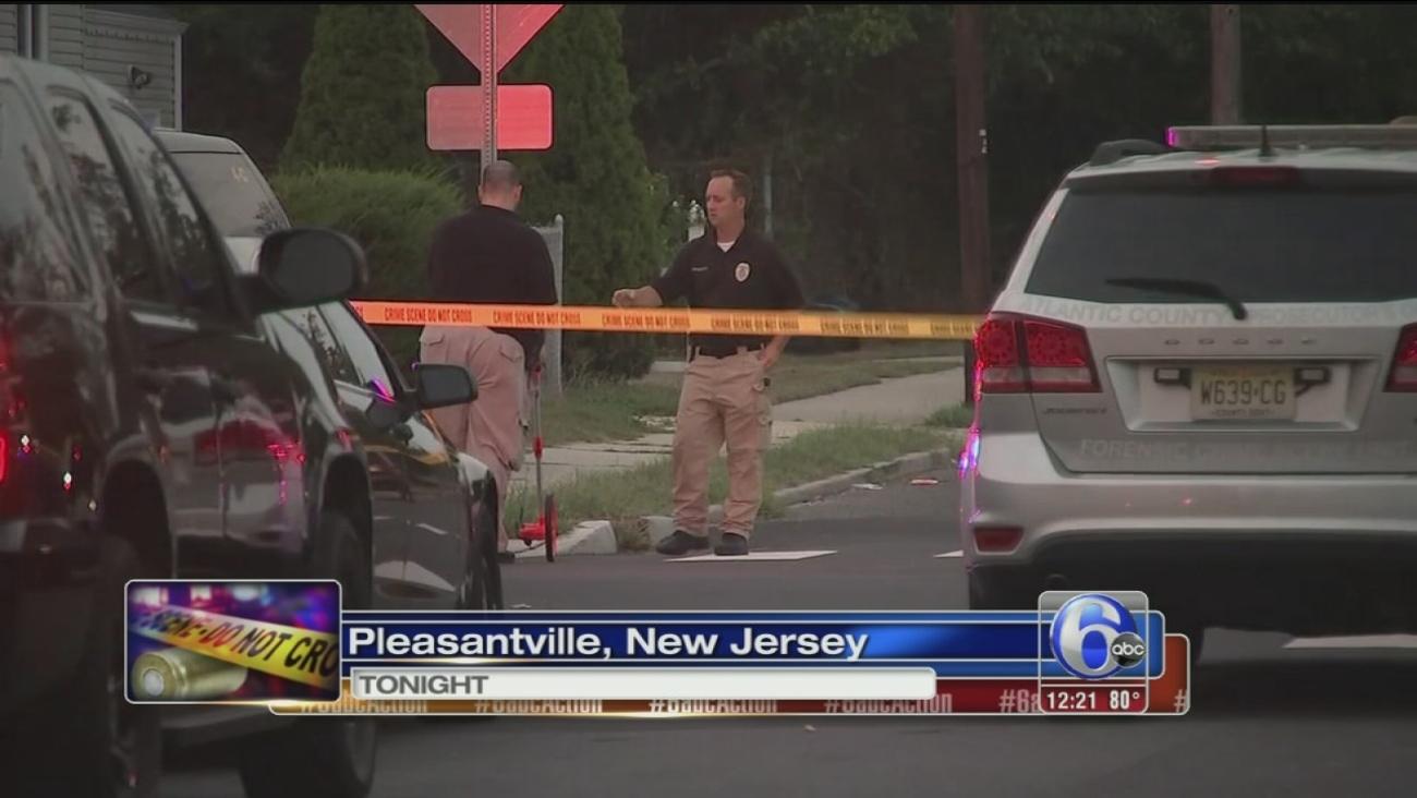 VIDEO: Pleasantville shooting