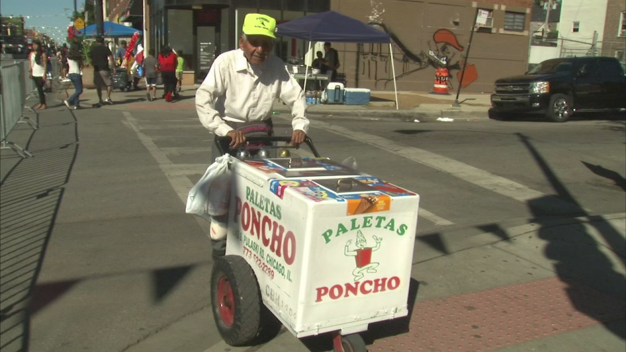 Money raised for ice cream vendor