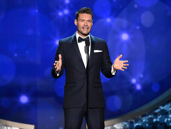 "<div class=""meta image-caption""><div class=""origin-logo origin-image none""><span>none</span></div><span class=""caption-text"">Ryan Seacrest speaks during night two of the Television Academy's 2016 Creative Arts Emmy Awards at the Microsoft Theater on Sunday, Sept. 11, 2016 in Los Angeles. (Phil McCarten/Invision for the Television Academy/AP Images)</span></div>"