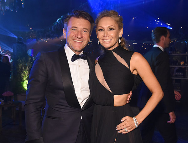 "<div class=""meta image-caption""><div class=""origin-logo origin-image none""><span>none</span></div><span class=""caption-text"">Robert Herjavec, left, and Kym Johnson attend the Governors Ball during night two of the Television Academy's 2016 Creative Arts Emmy Awards at the Microsoft Theater on Sunday. (Phil McCarten/Invision for the Television Academy/AP Images)</span></div>"
