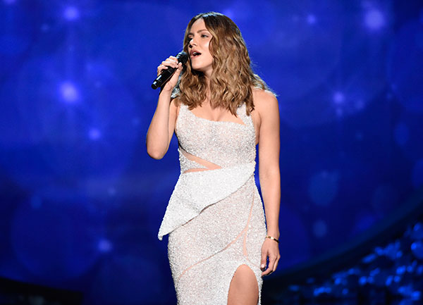"<div class=""meta image-caption""><div class=""origin-logo origin-image none""><span>none</span></div><span class=""caption-text"">Katharine McPhee performs during night two of the Television Academy's 2016 Creative Arts Emmy Awards at the Microsoft Theater on Sunday, Sept. 11, 2016 in Los Angeles. (Phil McCarten/Invision for the Television Academy/AP Images)</span></div>"