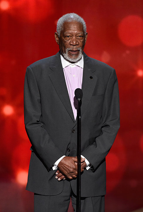 "<div class=""meta image-caption""><div class=""origin-logo origin-image none""><span>none</span></div><span class=""caption-text"">Morgan Freeman speaks during night two of the Television Academy's 2016 Creative Arts Emmy Awards at the Microsoft Theater on Sunday, Sept. 11, 2016 in Los Angeles. (Phil McCarten/Invision for the Television Academy/AP Images)</span></div>"