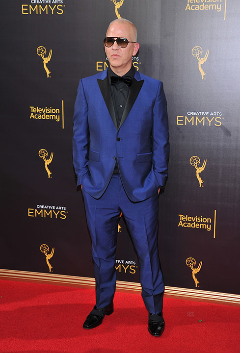 "<div class=""meta image-caption""><div class=""origin-logo origin-image none""><span>none</span></div><span class=""caption-text"">Ryan Murphy arrives at night two of the Television Academy's 2016 Creative Arts Emmy Awards at the Microsoft Theater. (Vince Bucci/Invision for the Television Academy/AP Images)</span></div>"
