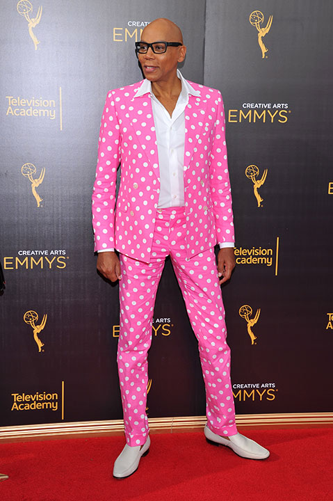 "<div class=""meta image-caption""><div class=""origin-logo origin-image none""><span>none</span></div><span class=""caption-text"">RuPaul Charles arrives at night two of the Television Academy's 2016 Creative Arts Emmy Awards at the Microsoft Theater on Sunday, Sept. 11, 2016. (Vince Bucci/Invision for the Television Academy/AP Images)</span></div>"