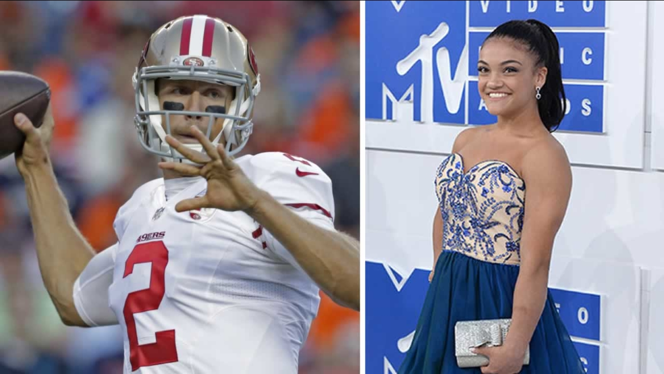 """Laurie Hernandez is hitting the dance floor on """"Dancing With the Stars"""" at 5 p.m. and Blaine Gabbert is starting QB as the 49ers take on the Rams at 7:30 p.m. Monday on ABC7."""
