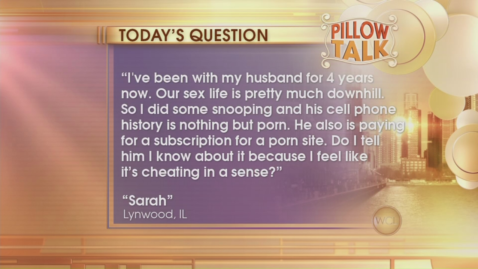 Pillow Talk: Is porn cheating? - ABC7 Chicago