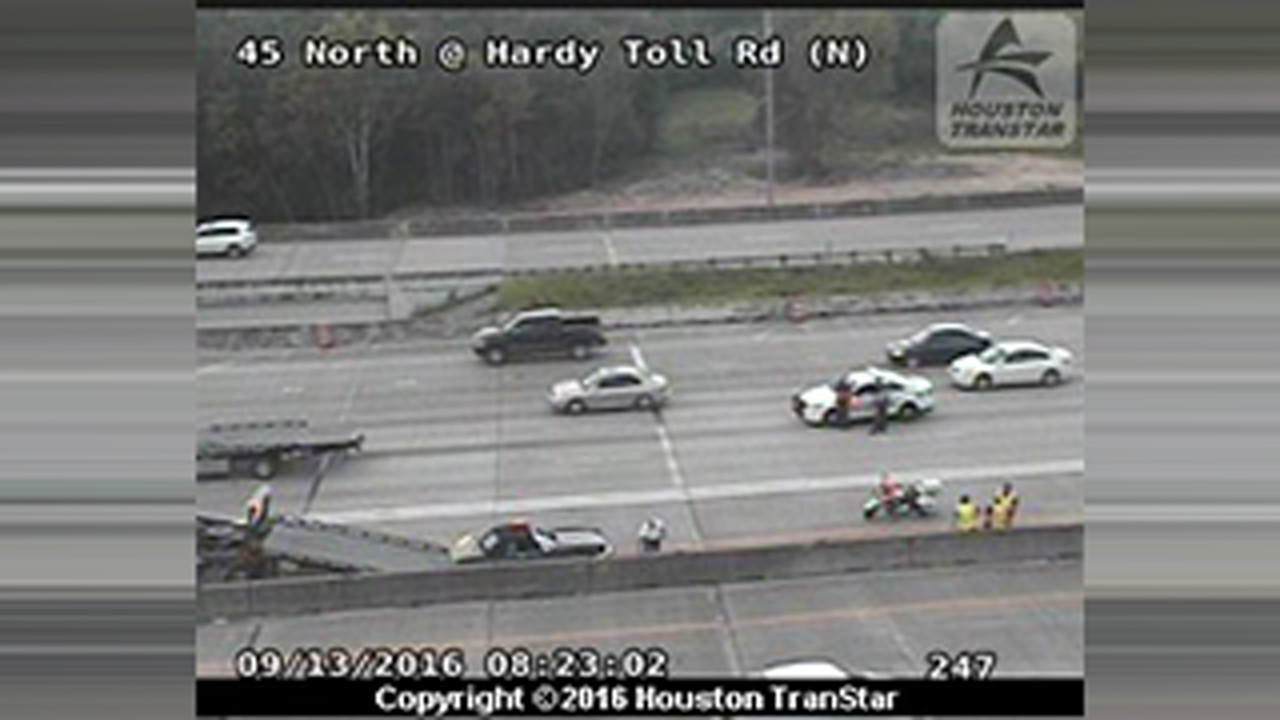 Hardy Toll Road accident