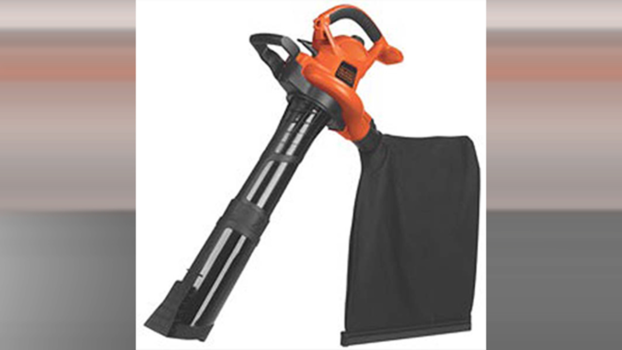 Black + Decker blower recall