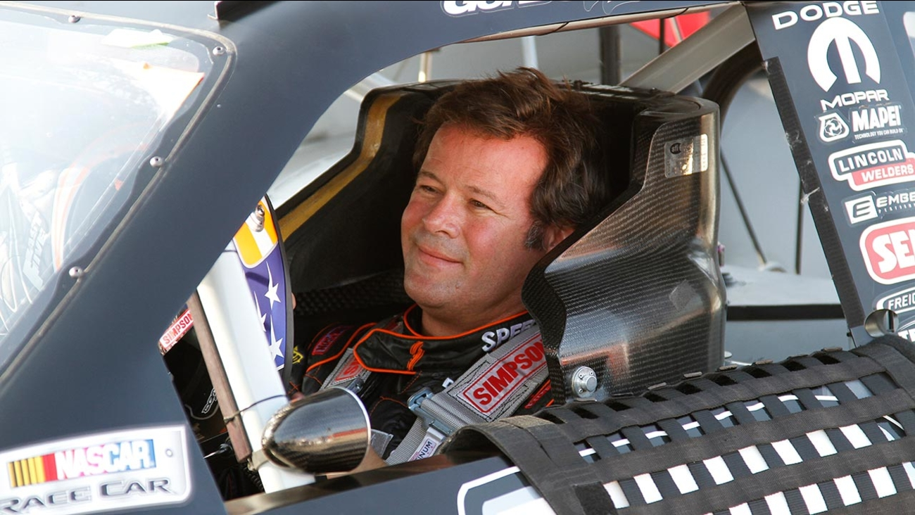 NASCAR Sprint Cup Series driver Robby Gordon (7) at Texas Motor Speedway Friday, April 8, 2011, in Fort Worth, Texas.