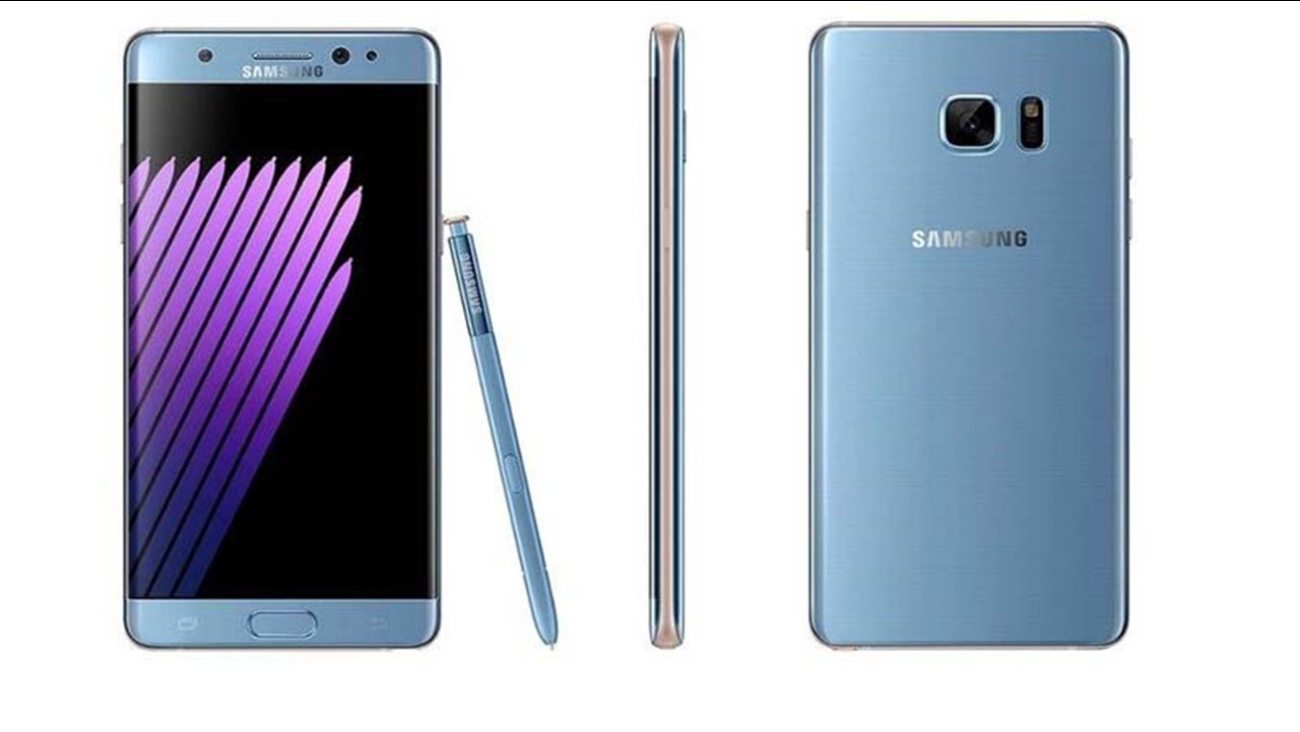 samsung galaxy note 7 recall