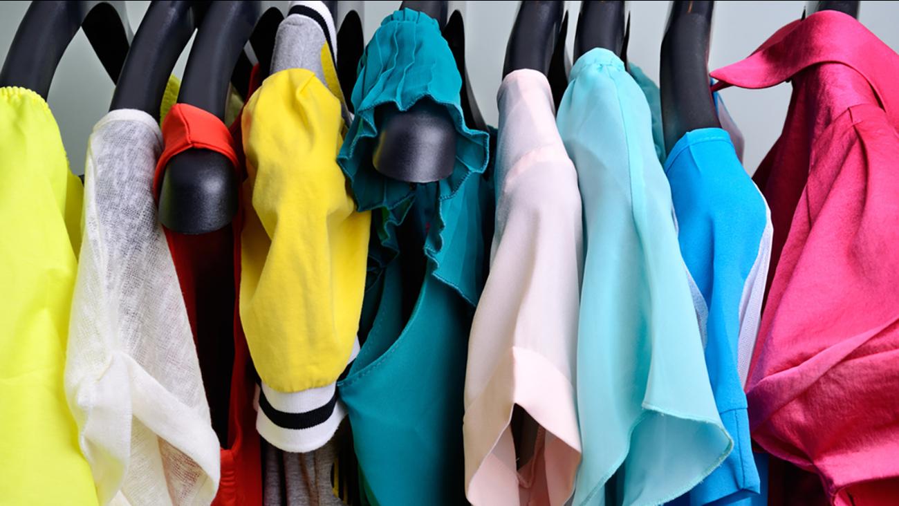 Stock photo of women's clothing
