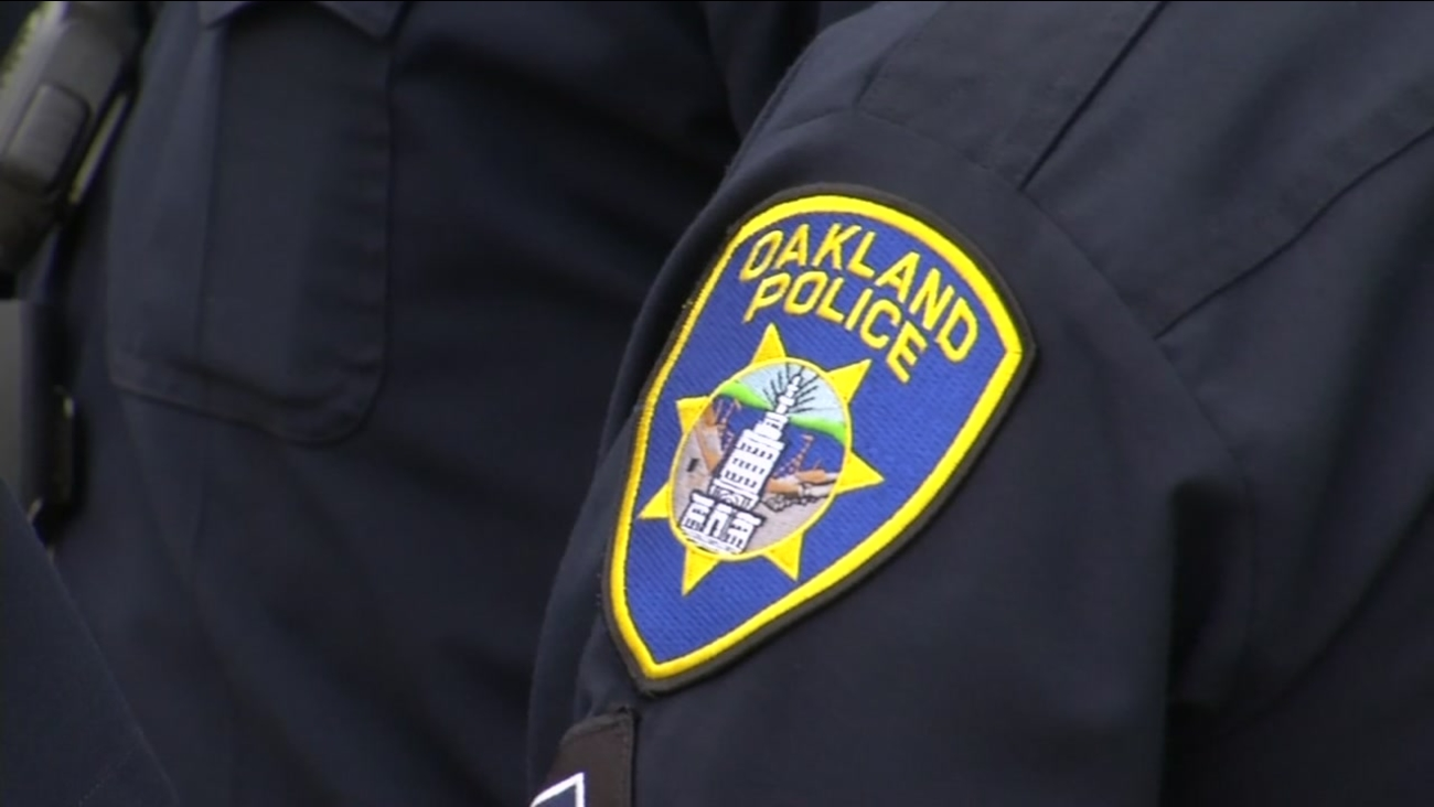 This undated image shows an Oakland Police Department officer.