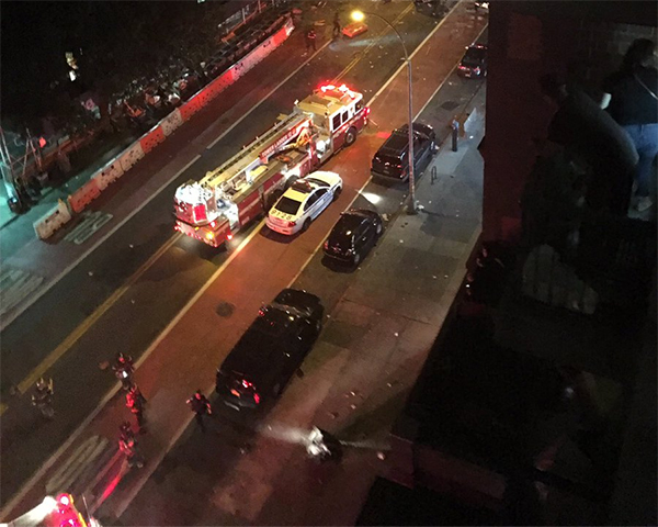 <div class='meta'><div class='origin-logo' data-origin='none'></div><span class='caption-text' data-credit='Twitter/@itaycohai'>FDNY on the scene in Manhattan, New York.</span></div>