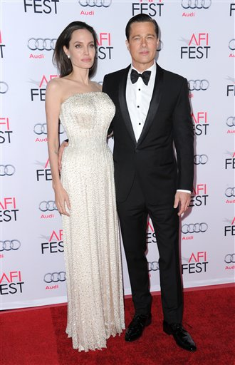 "<div class=""meta image-caption""><div class=""origin-logo origin-image none""><span>none</span></div><span class=""caption-text"">Angelina Jolie and Brad Pitt arrive at the 2015 AFI Fest opening night premiere of ""By The Sea"" on Thursday, Nov. 5, 2015, in Los Angeles. (Photo by Richard Shotwell/Invision/AP) (Richard Shotwell/Invision/AP)</span></div>"