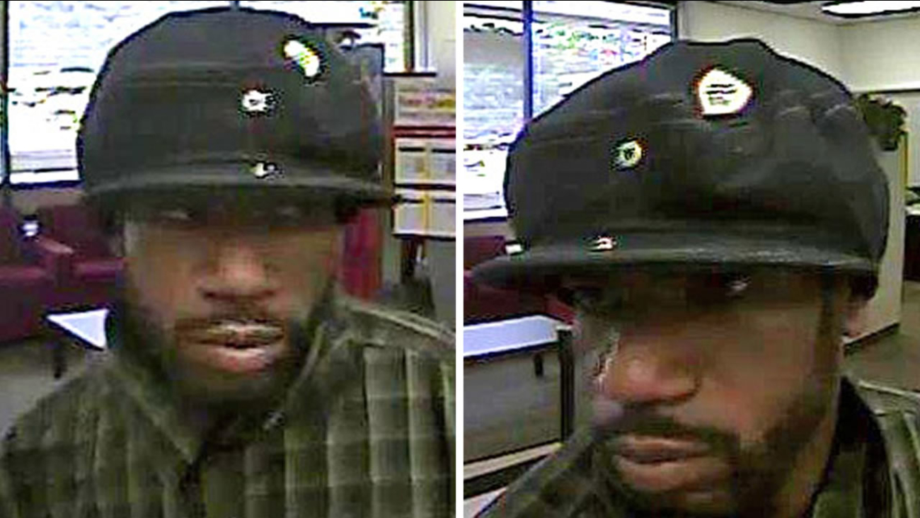 Surveillance photos of the suspect.