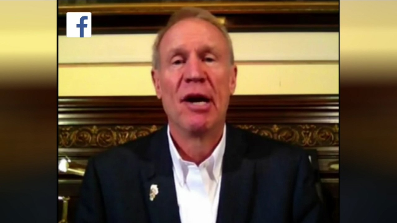 Governor Bruce Rauner hosted his first Facebook Live session on Tuesday.