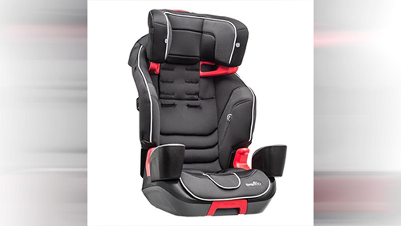 Evenflo recalls booster seats; children can loosen harness ...