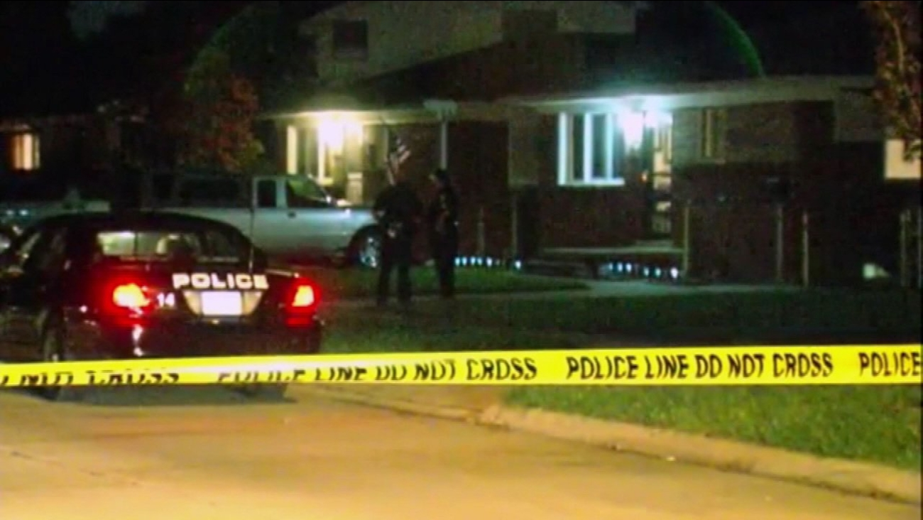 The bodies of two young children and two teenagers were found at a Detroit-area home early Wednesday.
