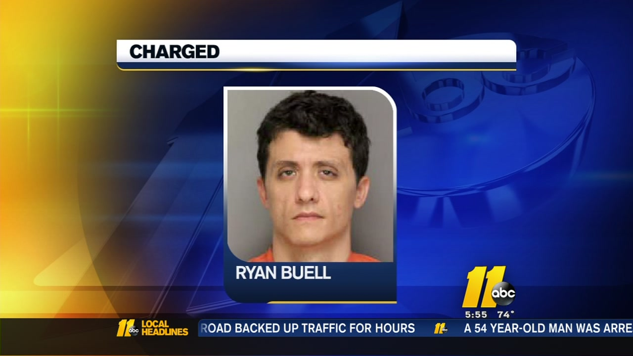 Celebrity Ghost Hunter Ryan Buell Arrested Abc11 Raleigh Durham