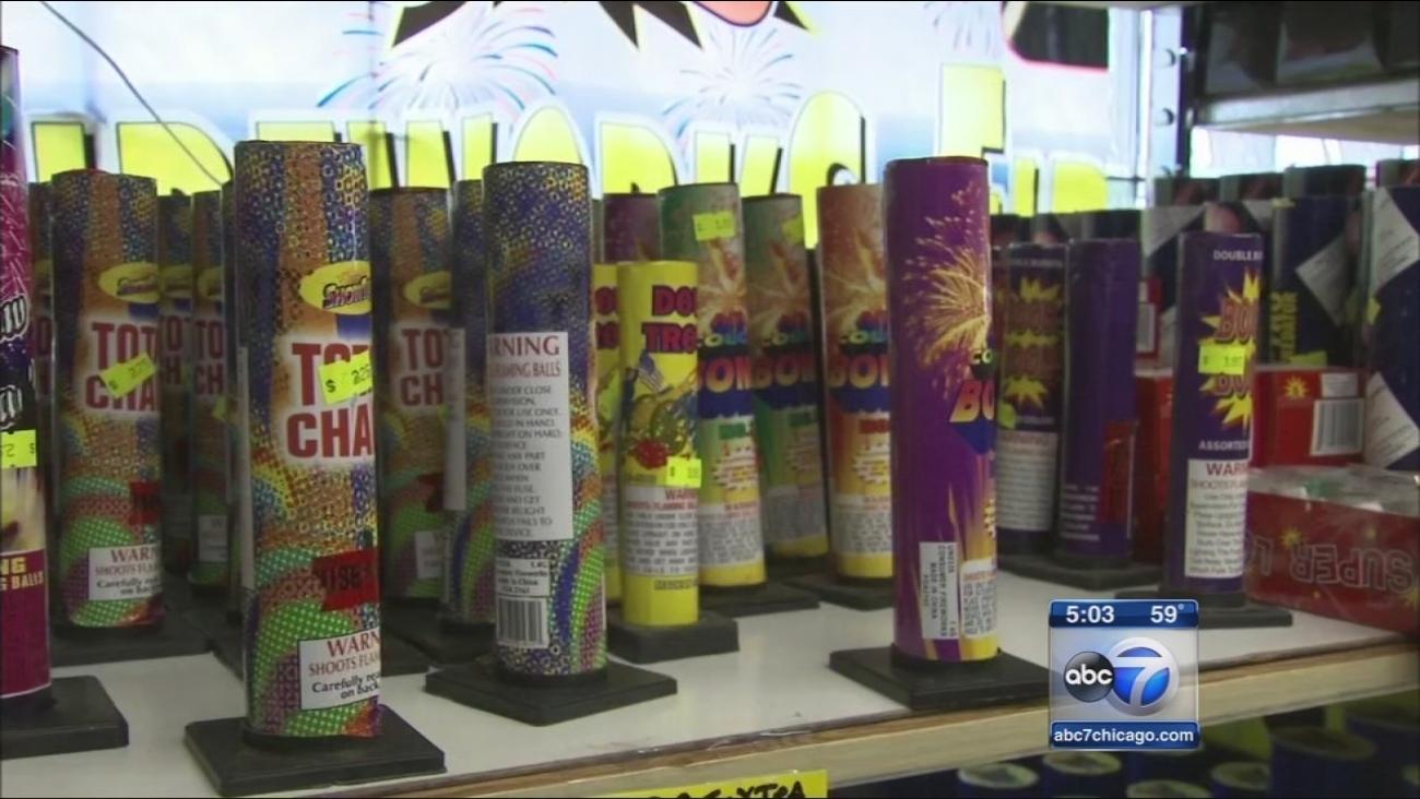 Officials urge safe, legal use of fireworks
