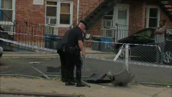 """<div class=""""meta image-caption""""><div class=""""origin-logo origin-image """"><span></span></div><span class=""""caption-text"""">A mother and her two daughters were struck by a stolen minivan in Flatlands, Brooklyn on Wednesday afternoon. (WABC Photo/ WABC)</span></div>"""