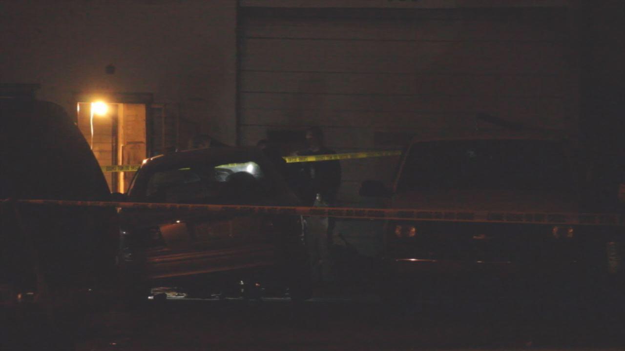 Scene at Brown's Garage in Fayetteville