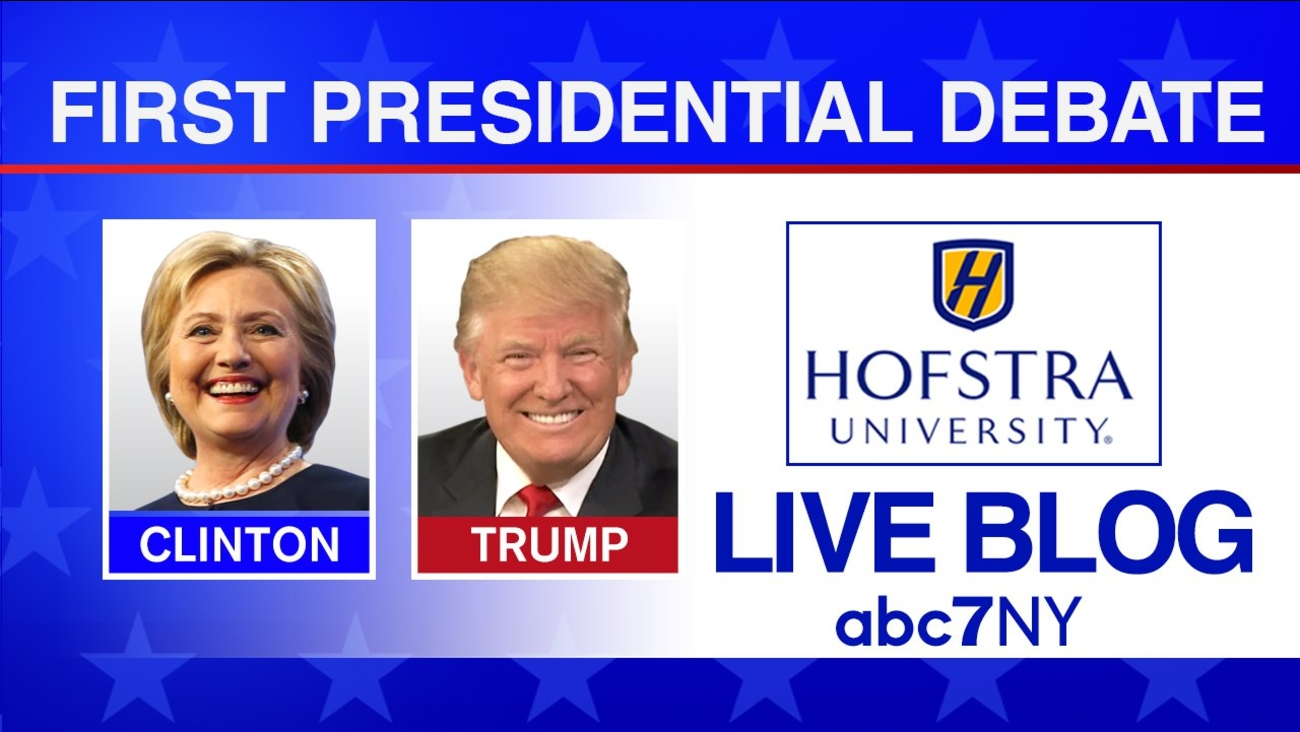 hofstra debate clinton trump live blog