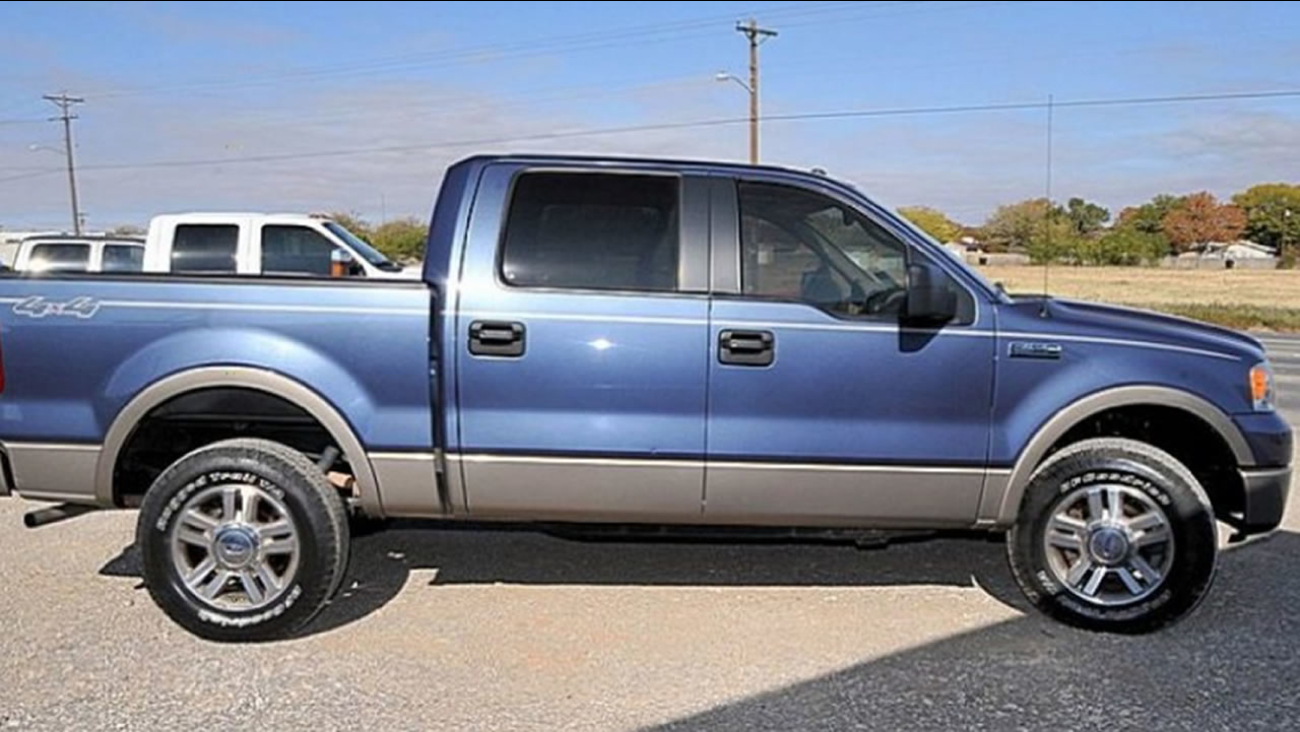 Police say the truck is likely a Ford F-150 similar to this one.