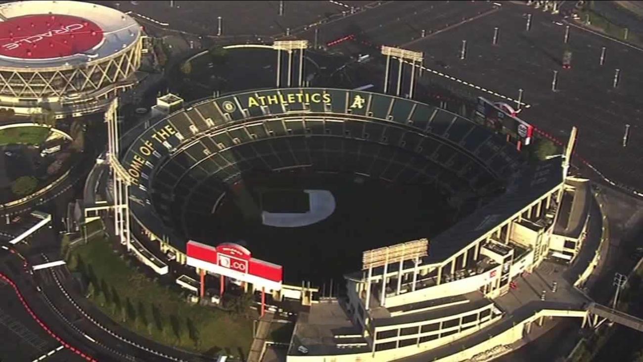 O.Co Coliseum in Oakland