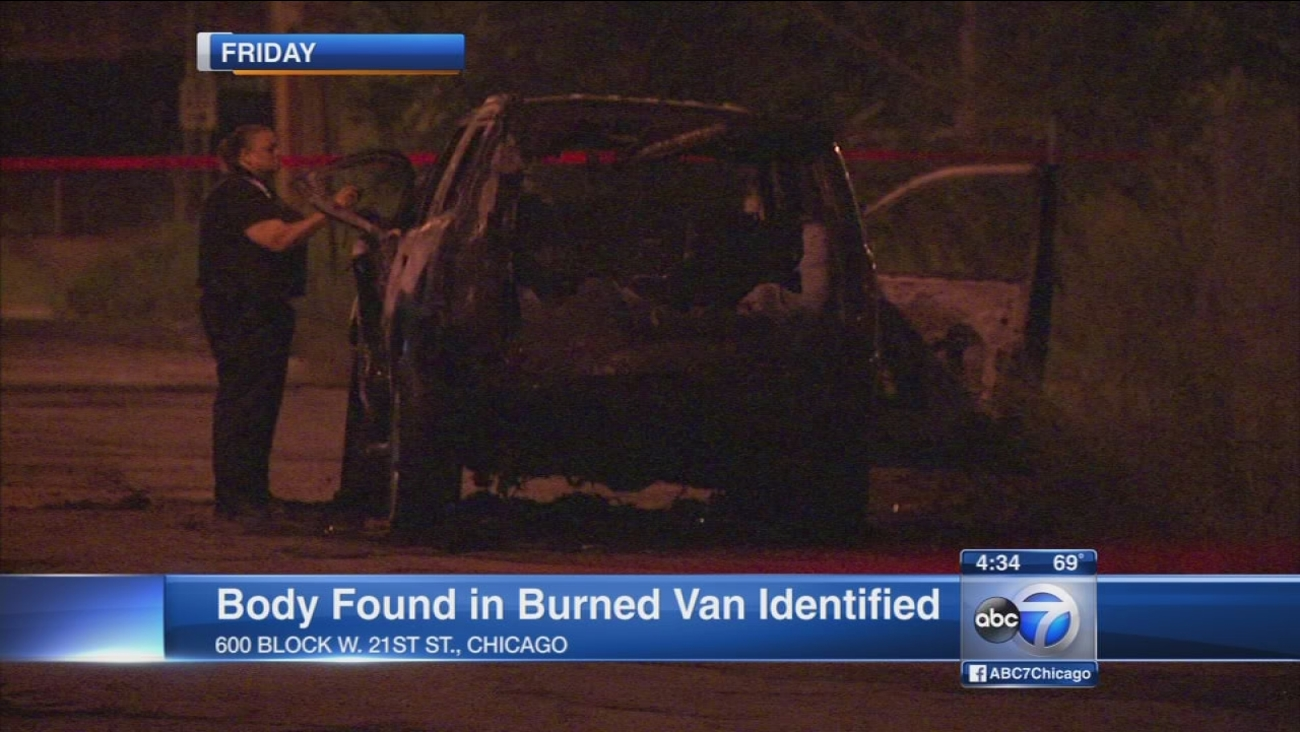 Body found in burning Pilsen vehicle ID'd as Barrington Hills man