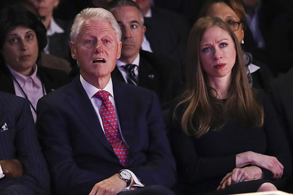 "<div class=""meta image-caption""><div class=""origin-logo origin-image ap""><span>AP</span></div><span class=""caption-text"">Former President Bill Clinton and Chelsea Clinton, daughter of Hillary Clinton listen during the presidential debate between Donald Trump and Hillary Clinton at Hofstra University. (Joe Raedle/AP)</span></div>"