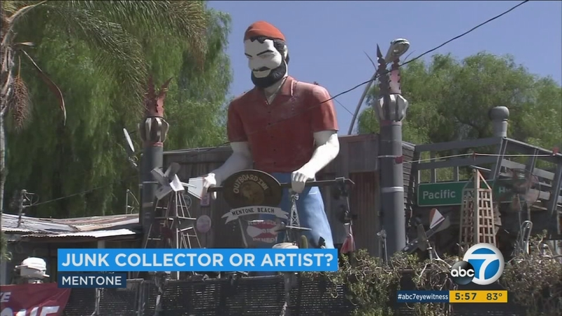Junkyard San Bernardino >> Junkyard Paradise In Mentone Shows Life Work Of Retired Yacht Boat Captain