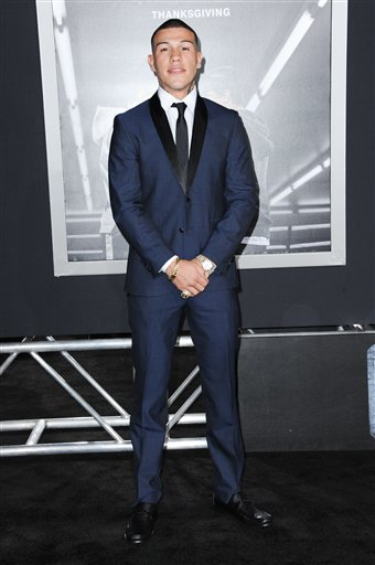 <div class='meta'><div class='origin-logo' data-origin='none'></div><span class='caption-text' data-credit='Richard Shotwell/Invision/AP'>Gabriel Rosado attends the LA Premiere of &#34;Creed&#34; held at the Regency Village Theater on Thursday, Nov. 19, 2015, in Los Angeles. (Photo by Richard Shotwell/Invision/AP)</span></div>
