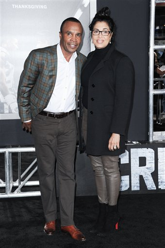 <div class='meta'><div class='origin-logo' data-origin='none'></div><span class='caption-text' data-credit='Richard Shotwell/Invision/AP'>Sugar Ray Leonard attends the LA Premiere of &#34;Creed&#34; held at the Regency Village Theater on Thursday, Nov. 19, 2015, in Los Angeles. (Photo by Richard Shotwell/Invision/AP)</span></div>