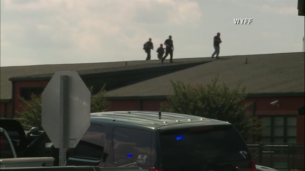 Law enforcement responded to Townville Elementary School