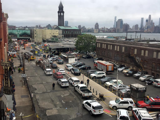 "<div class=""meta image-caption""><div class=""origin-logo origin-image none""><span>none</span></div><span class=""caption-text"">Emergency personnel arrive at the scene of a train crash in Hoboken, N.J. on Thursday, Sept. 29, 2016. (AP)</span></div>"