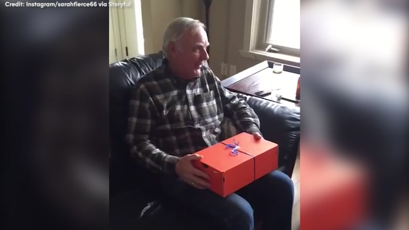 Dad Gets A Mind Blowing Birthday Suprise