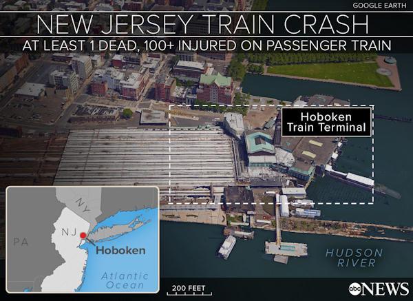 hoboken terminal map