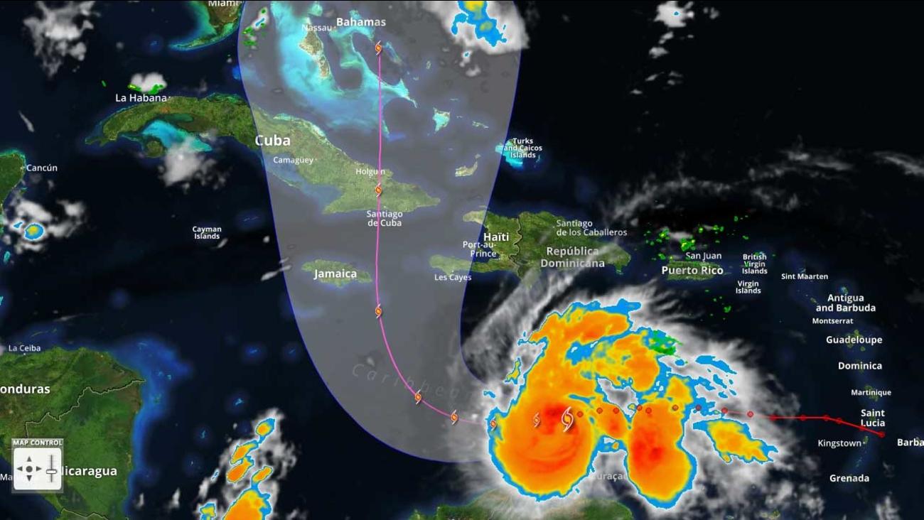 Tropical Tracker Mega Hurricane Matthew Soaks Colombia Heads For Jamaica Haiti Abc7 New York