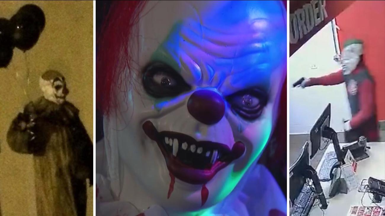 Clown Timeline