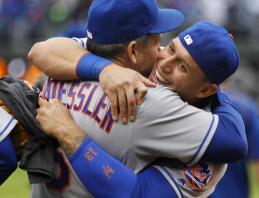 "<div class=""meta image-caption""><div class=""origin-logo origin-image ap""><span>AP</span></div><span class=""caption-text"">New York Mets shortstop Asdrubal Cabrera, right, embraces assistant hitting coach Pat Roessler. (AP)</span></div>"
